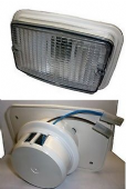 FAP AWNING LIGHT WHITE NON-SWITCHED 21W BAYONET BULB MOTORHOME CARAVAN BOAT